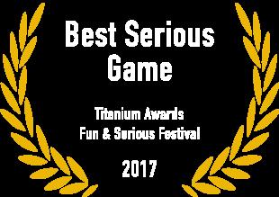 Best Serious Game - Titanium Awards